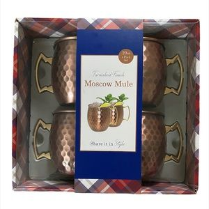 🧉NEW Moscow Mule Mugs 4 pack🧉